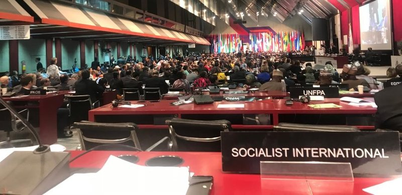 SI meeting at the 141st Assembly of the IPU in Belgrade, Serbia