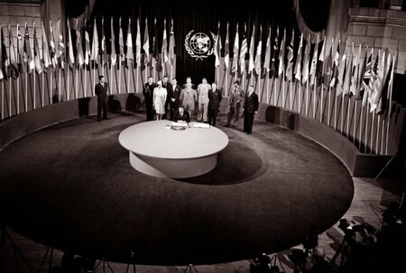 SI honours the founding day of the United Nations, 24 October 1945