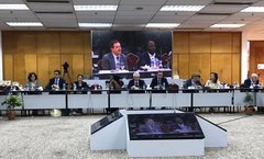 SI at the 136th IPU Assembly in Dhaka, Bangladesh